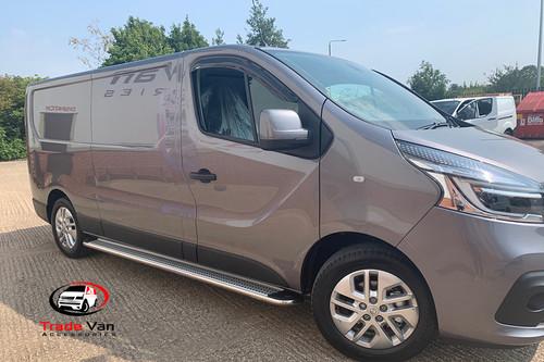 Nissan NV300 2016 on Wind deflectors Window Visors - Dark Tint