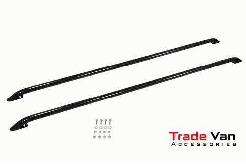 VW T5 / T6 Black Roof Bars Steel Roof Tube 40mm
