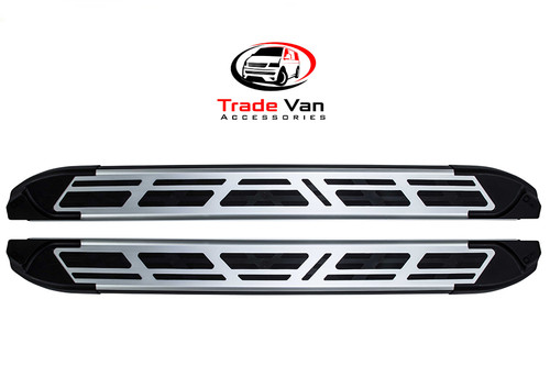 Fiat Talento 2016 on SWB Side Steps SILVER Sapphire V2 Edition