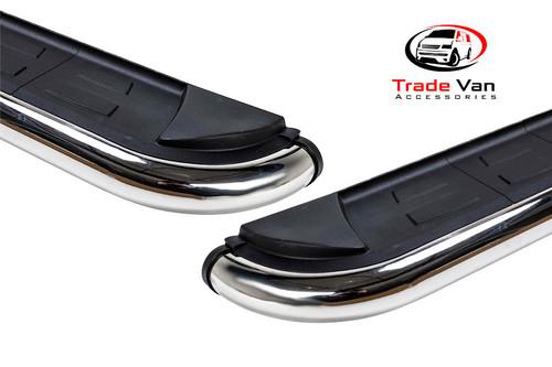 Peugeot Partner Side Steps Calibre Black Edition Fits 2008-17