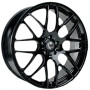 """Our black high quality 20"""" alloy wheels for the VW Volkswagen T5 Transporter 2012-on are an eye-catching and stylish accessory for your Van Ultra lightweight and strong, finished in a unique specialised shine without the premium price, yet load rated to your vans legal specifications. These wheels need to be seen! Buy online at Trade Van Accessories."""