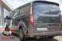 Ford Transit Custom Rear PU  Spoiler TWIN DOOR - Unprimed