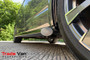 Ford Transit Custom Black Side Bars Slash Cut Steel Tube 76mm