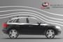 Volkswagen Tiguan Silver Air I Cross Bars Lockable Roof Rack 2016 on