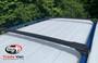 Volkswagen Tiguan Black Air I Cross Bars Lockable Roof Rails 2016 on