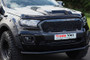 """Ford Ranger Steel Black Powder Coated 2.5"""" Bull Bumper City Bar 2016 on"""