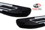 Jeep Compass 2007-17 Side Steps SILVER Sapphire V2 Edition