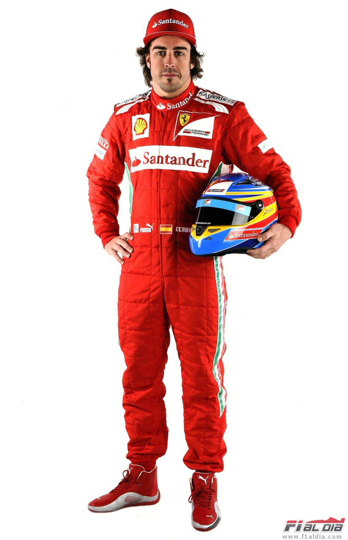 Fernando Alonso Ferrari Suit 2013 On The Edge Motorsport