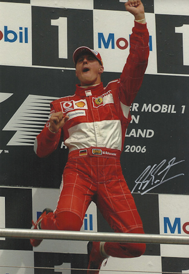 Michael Schumacher Signed Photograph Germany 2006 - 3