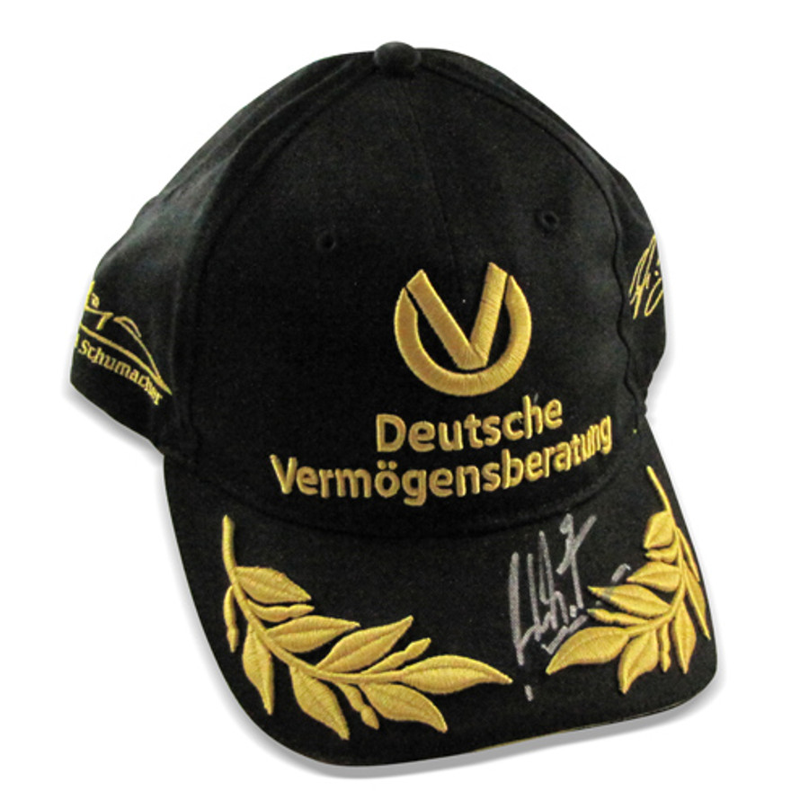 Michael Schumacher Signed '20 Years' Limited Edition Cap