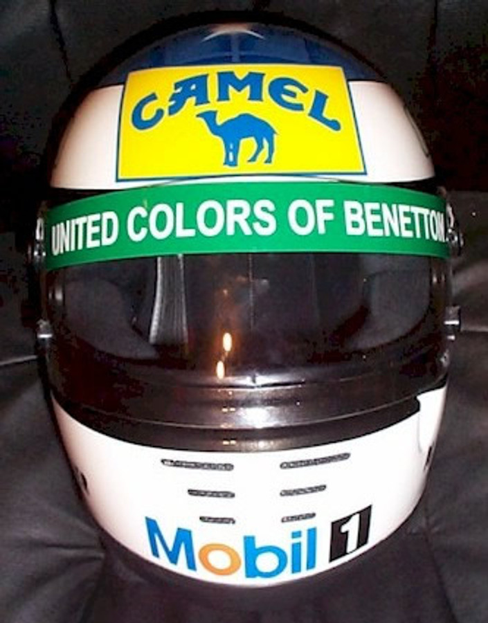 "Michael Schumacher Benetton ""Camel"" Replica Helmet"