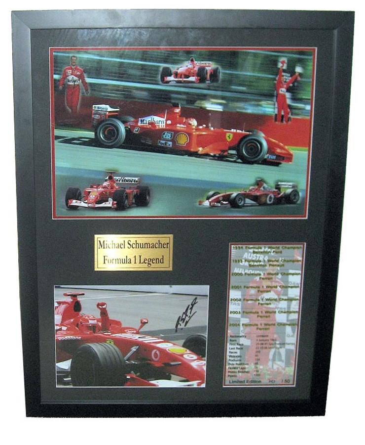 Michael Schumacher - Formula 1 Legend - Limited Edition SIGNED