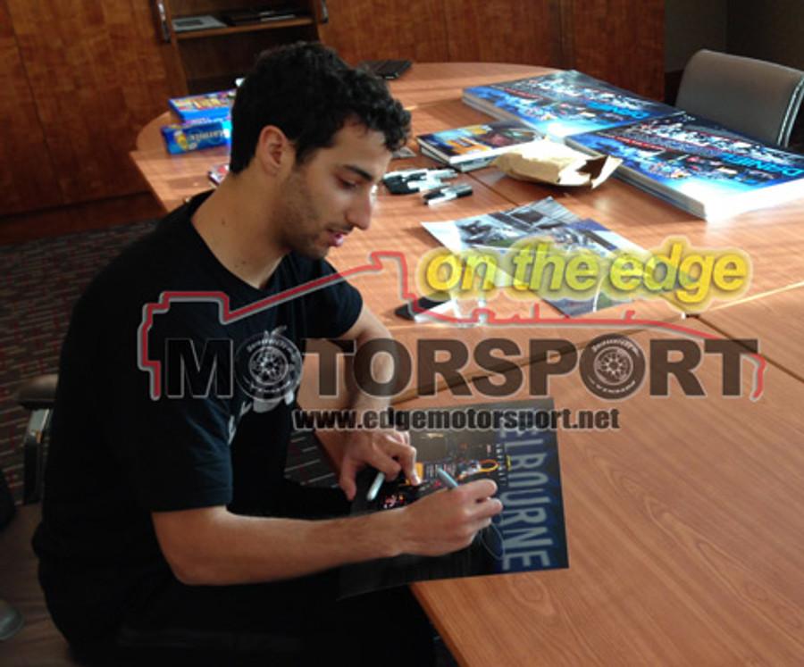 2014 Daniel Ricciardo Red Bull Australian GP Large Signed Frame - 1