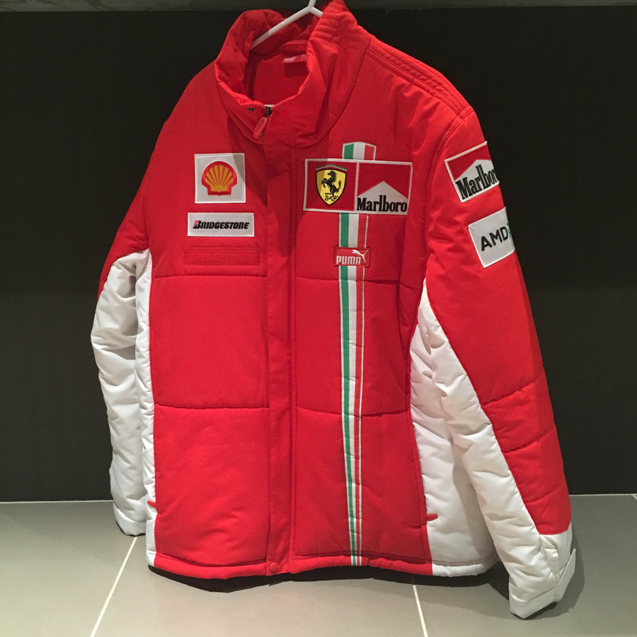 2007 Ferrari PUMA Malboro Puffer Jacket