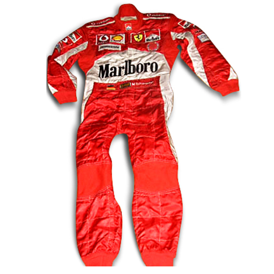 Michael Schumacher Used Testing Suit - 2000's