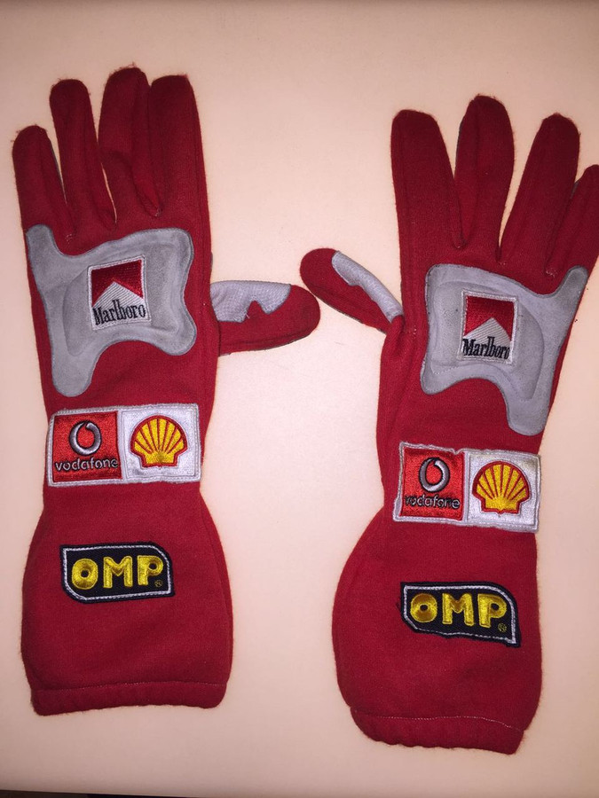 Michael Schumacher Race Used Gloves - 2