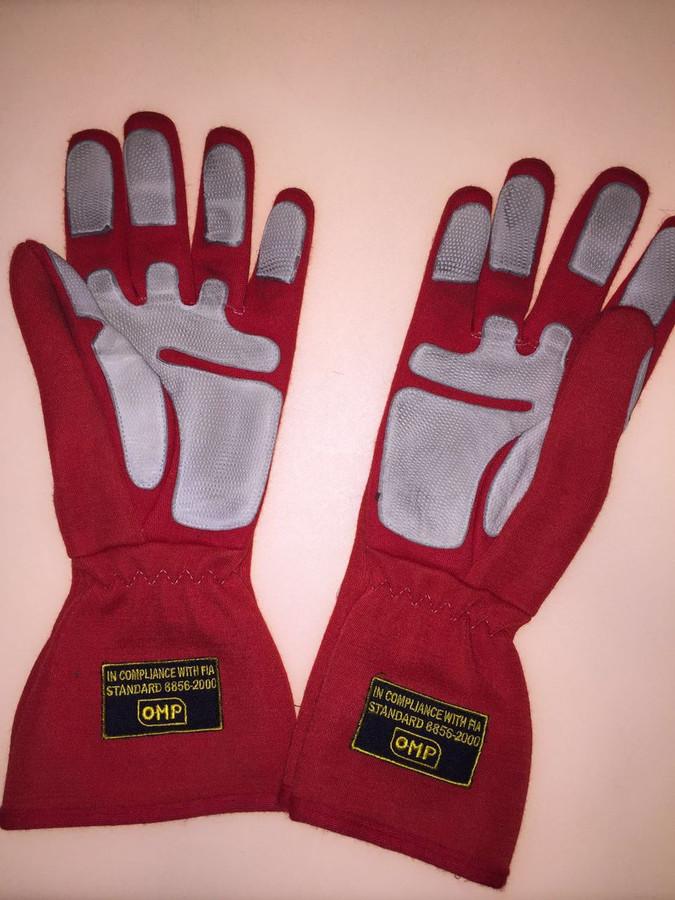Michael Schumacher Race Used Gloves - 3
