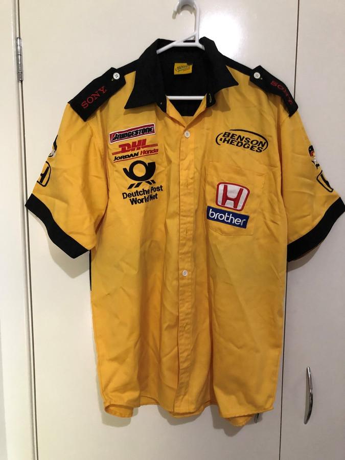 Jordan Honda Benson & Hedges 2001 F1 Team Pit Crew Shirt