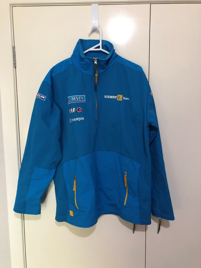 Renault F1 Team Mild Seven 2005 F1 Team Pit Crew Soft Shell Jacket