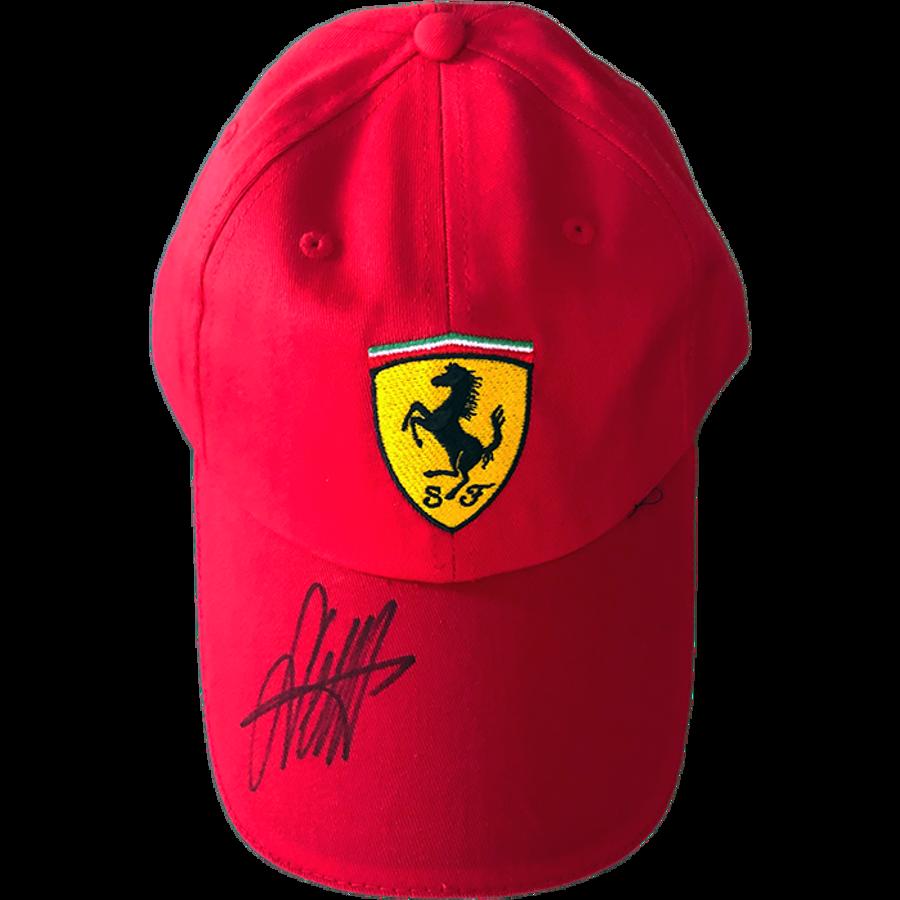 Sebastian Vettel Ferrari Signed 2019 Cap