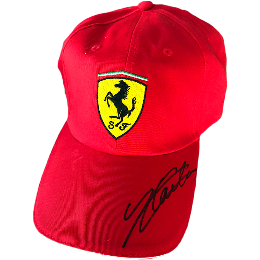 Charles Leclerc Ferrari Signed 2019 Cap - Black