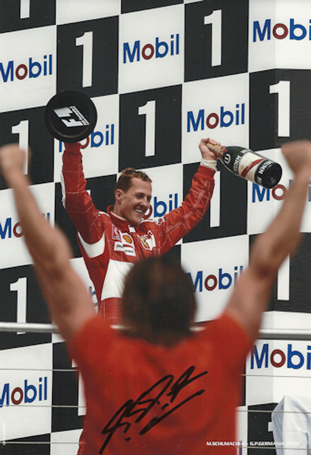Michael Schumacher Signed Photograph Germany 2006 - 2