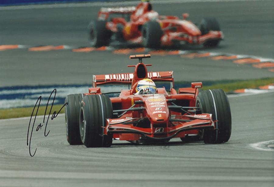 Felipe Massa Signed Photograph 2008