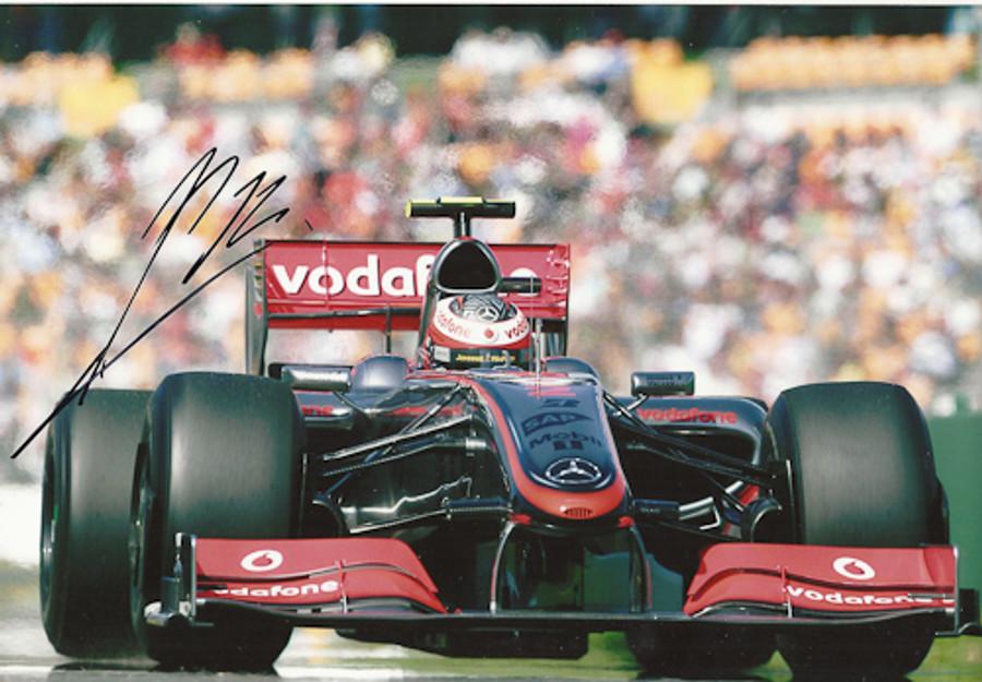 Heikki-Kovalainen Signed Photograph 2009