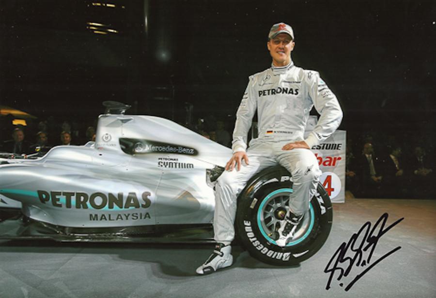 Michael Schumacher Signed Photograph 2010 - 7