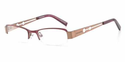 Converse Designer Eyeglasses I'm Telling in Burgundy :: Rx Bi-Focal