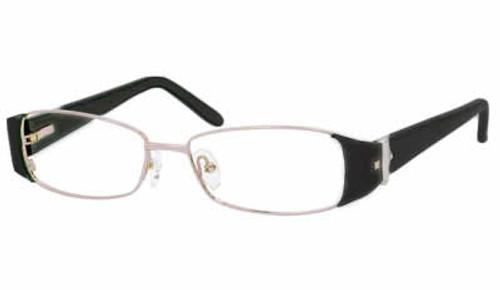 Dale Earnhardt, Jr. 6747 Designer Eyeglasses in Black-Silver :: Progressive