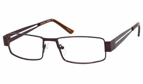 Dale Earnhardt, Jr. 6796 Designer Eyeglasses in Brown :: Progressive