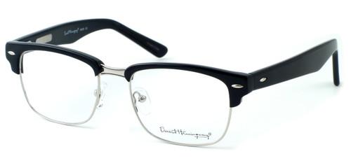 Ernest Hemingway Eyewear Collection 4629 in Gloss Black & Silver :: Rx Bi-Focal