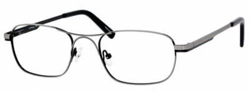 Ernest Hemingway Eyewear Collection 4621 in Gun-Metal :: Rx Bi-Focal