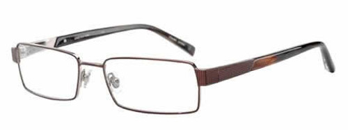 Jones NY Designer Eyeglasses J322 in Brown :: Rx Bi-Focal
