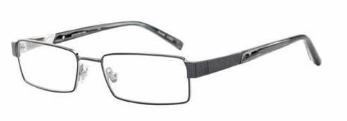 Jones NY Designer Eyeglasses J322 in Navy :: Rx Bi-Focal