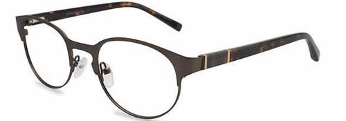 Jones NY Designer Eyeglasses J339 in Brown :: Rx Bi-Focal