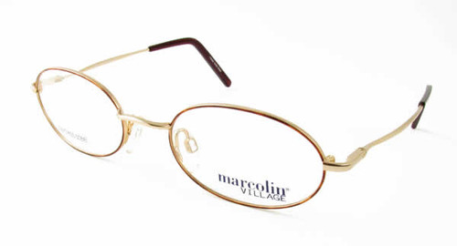 Marcolin Designer Eyeglasses 6715 47 mm in Gold :: Rx Bi-Focal