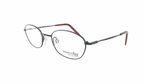 Marcolin Designer Eyeglasses 6716 49  mm in Emerald :: Rx Bi-Focal