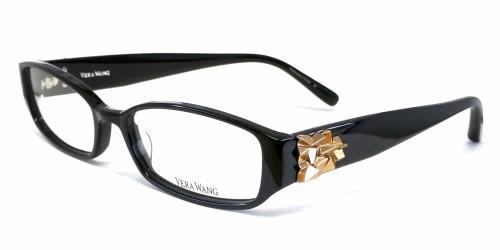 Vera Wang Designer Eyeglasses V055 in Black :: Rx Bi-Focal