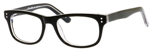 Eddie Bauer Eyeglasses Small Kids Size 8327 in Black-Crystal :: Progressive