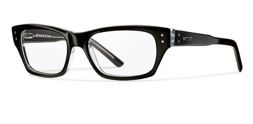 Smith Optics Designer Optical Eyewear Bradford in Black Crystal :: Custom Left & Right Lens