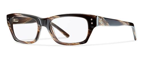 Smith Optics Designer Optical Eyewear Bradford in Horn :: Custom Left & Right Lens