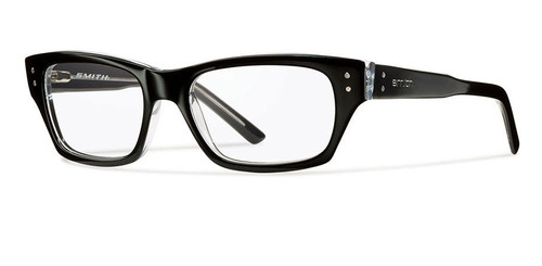 Smith Optics Designer Optical Eyewear Bradford in Black Crystal :: Rx Bi-Focal