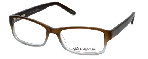 Eddie Bauer EB8288 Designer Reading Glasses in Brown-Smoke