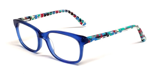 Calabria Kid's Eyewear Collection LKA200 Small Size in Blue :: Rx Bi-Focal