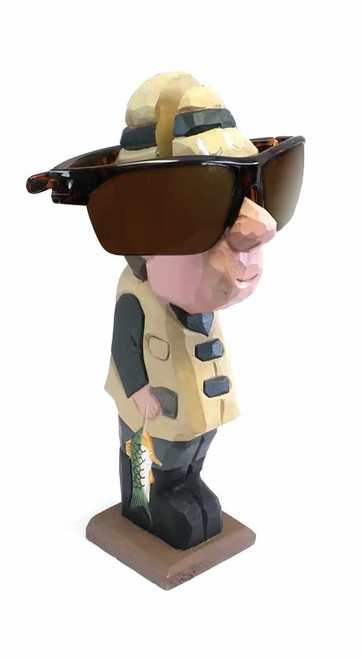 Fisherman Peeper Eyeglass Holder Stand
