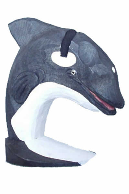 Orca-Whale Peeper Eyeglass Holder Stand