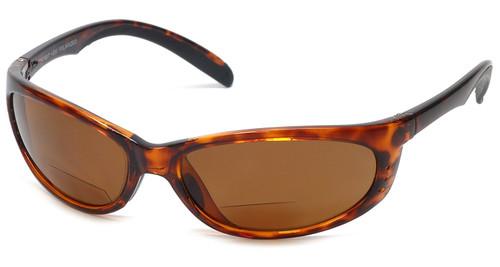 Grand Banks 475BF Polarized Bi-focal Reading Sunglasses in Tortoise