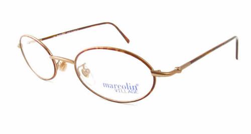 Marcolin Designer Eyeglasses 6454 in Bronze 48 mm :: Rx Bi-Focal
